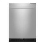 "Noir(tm) 24"" Under Counter Solid Door Refrigerator, Right Swing, Noir"