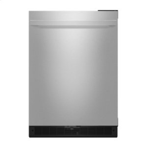 "Jenn-AirNOIR 24"" Under Counter Solid Door Refrigerator, Right Swing"
