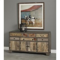 7 Drw 4 Dr Sideboard Product Image