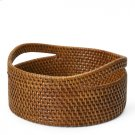 Palm Small Round Storage Basket with Handles Style #: PLBA08 Product Image