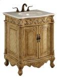 27 in. Single Bathroom Vanity set in Antique Beige Product Image