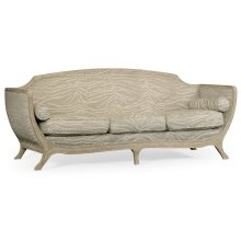 Empire Style Sofa (Painted Grey Weathered/COM)
