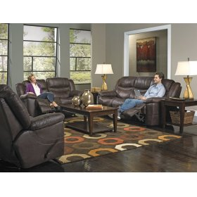 Rocking Recl Loveseat - Coffee