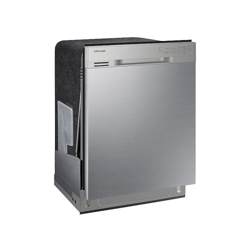 Front Control Dishwasher with Stainless Steel Interior