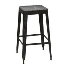 Industrial Studded Stool