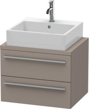 X-large Vanity Unit For Console Compact, Basalt Matt (decor)