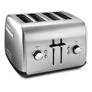 KitchenAid® 4-Slice Toaster with Manual High-Lift Lever - Brushed Stainless Steel Product Image