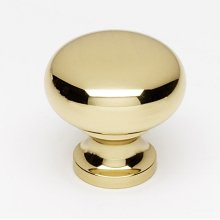 Knobs A1067 - Unlacquered Brass