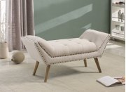 7073 Cream Bench Product Image