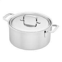 Demeyere 5-Plus Stainless Steel 5.5-qt Dutch Oven