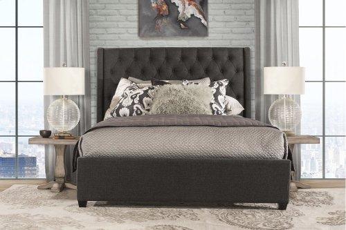 Churchill Cal King Bed - Onyx Fabric