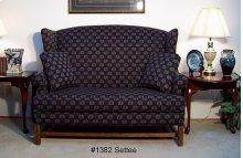 High Back Settee-One Seat Cushion