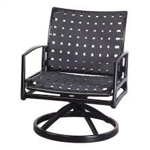 Phoenix Strap Swivel Rocking Lounge Chair