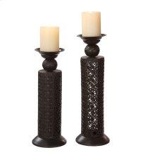 Ornate Pillar Holder set/2.