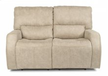 Cooper Fabric Power Reclining Loveseat with Power Headrests