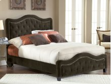 Trieste King Bed Chocolate