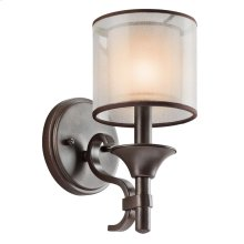 Lacey Collection Lacey 1 Light Wall Sconce - Mission Bronze