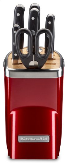 7-Piece Professional Series Cutlery Set - Candy Apple Red