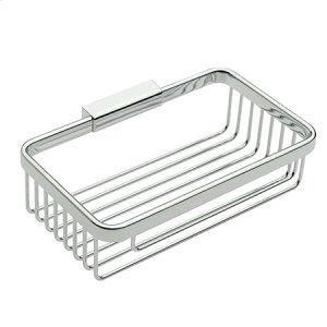 "Polished Chrome 8"" Deep Toiletry Basket Product Image"