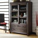 Promenade - Sliding Door Bookcase - Warm Cocoa Finish Product Image