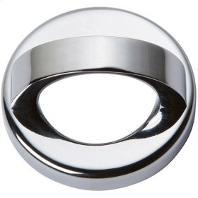 Tableau Round Base and Top 1 7/16 Inch - Polished Chrome