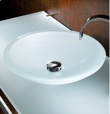 Freestanding Large Round ADA Sink