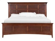 Complete Cal.King Panel Bed with Storage Rails Product Image