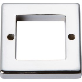 Tableau Square Base 1 7/16 Inch - Polished Chrome