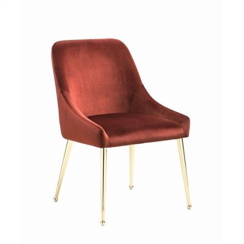 Modern Spicy Henna Dining Chair
