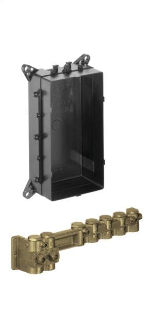 Rough, RainBrain Thermostatic Electronic Shower Product Image