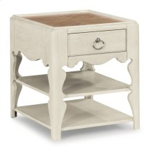 Miramar Scroll-Leg End Table