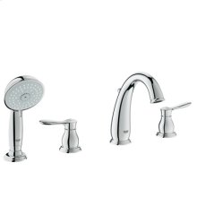 Starlight® Chrome Roman Tub Filler With Personal Hand Shower