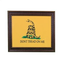 "Small : 31"" x 27"" with MATT Don't Tread on Me"