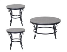 Emerald Home Emmerson 3-piece Accent Table Set Cathedral Gray T229-3pk
