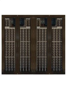 1400-Model Wine Cabinet with 4 Glass Doors