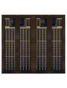 1400-Model Wine Cabinet with 4 Glass Doors