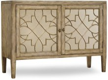 Sanctuary Two-Door Mirrored Console - Surf-Visage