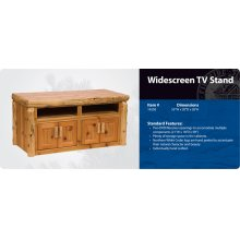 Television Stand - Widescreen