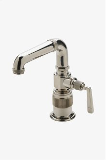 R.W. Atlas One Hole High Profile Bar Faucet, Metal Lever Handle STYLE: RWKM30