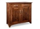 Glengarry Sideboard w/2 Wood Doors & 2/Drws & 1/Wood Adjust. Product Image