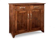 Glengarry Sideboard w/2 Wood Doors & 2/Drws & 1/Wood Adjust.