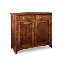 Glengarry Sideboard w/2 Wood Doors & 2/Drws & 1/Wood Adjust.