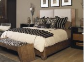 Mendoza Upholstered Headboard Queen Size 5/0