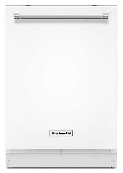 44 dBA Dishwasher with Clean Water Wash System - White Product Image
