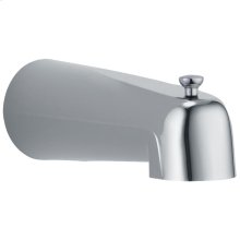 Chrome Tub Spout - Pull-Up Long Diverter