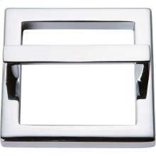 Tableau Square Base and Top 2 1/2 Inch - Polished Chrome
