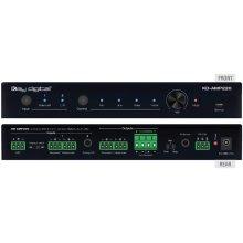 2Ch 20 WPC @ 8 Ohm, 40 WPC @ 4 Ohm, Compact Digital Amplifier
