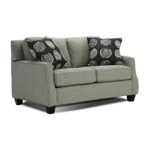 Loveseat With 3 Pillows
