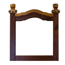 Nogal/Walnut Don Carlos Mirror