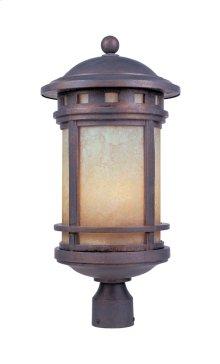 "11"" Post Lantern in Mediterranean Patina"
